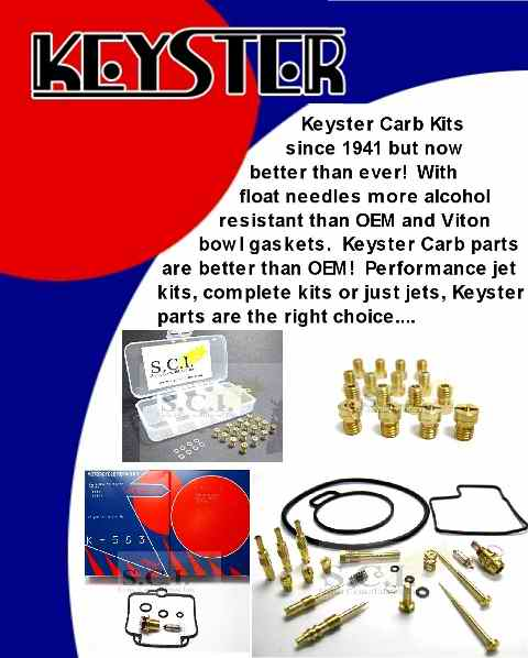 Keyster Carb Kits